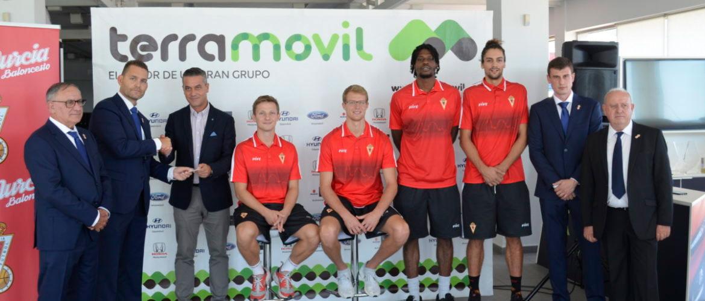 Real Murcia Baloncesto y Grupo Terramóvil unen sus caminos