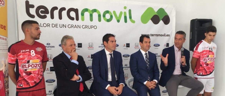 Kike Boned, nuevo Vicepresidente Ejecutivo de El Pozo Murcia, presenta el nuevo patrocinio de Grupo Ter