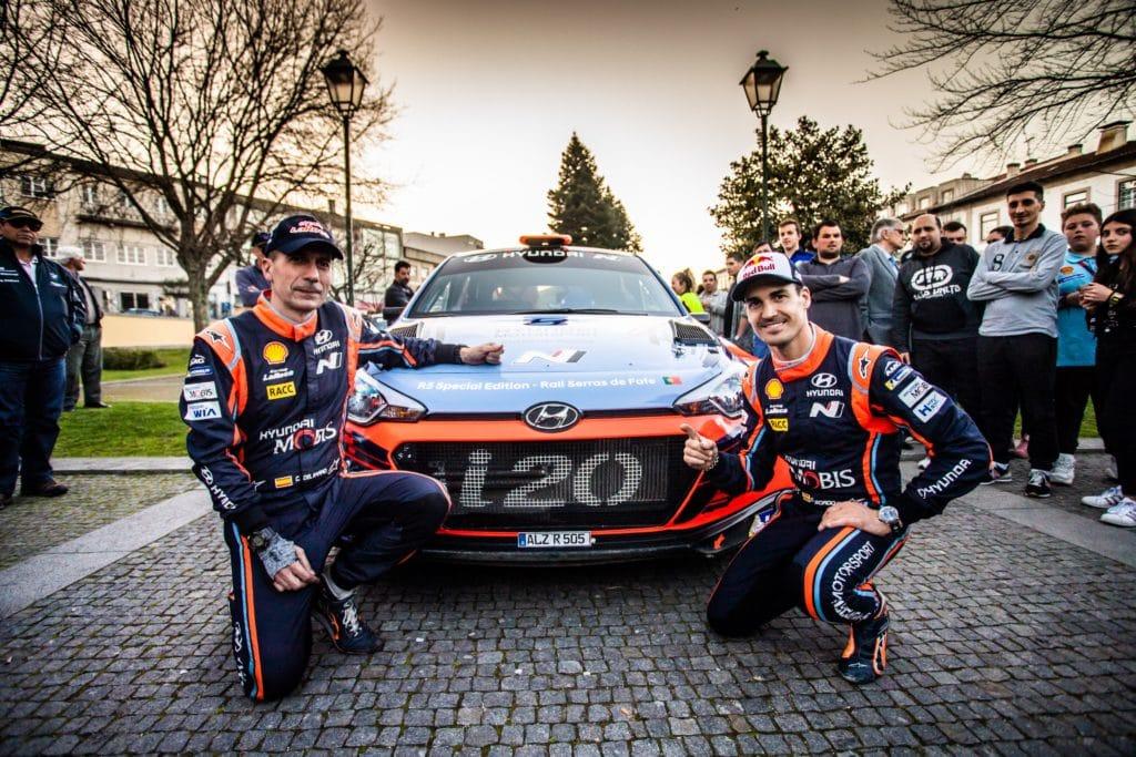 Dany Sordo en el Rallye de Saron con Hyundai Gasmovil