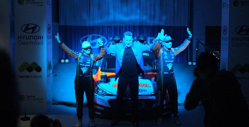Presentación del Equipo de Rallyes Hyundai Gasmovil