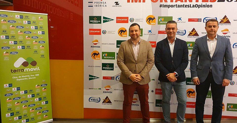 Terramovil patrocina los premios 'Importantes 2019' del diario La Opinión de Murcia