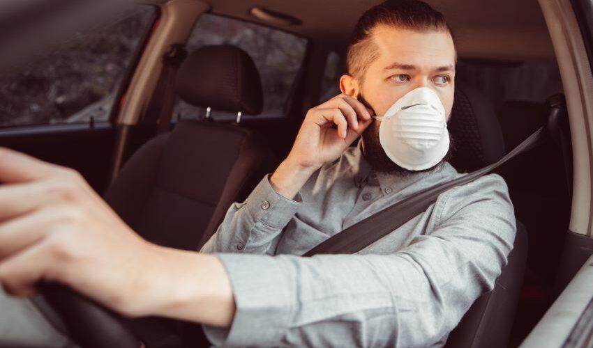 Evitar contagios si vas al trabajo en coche
