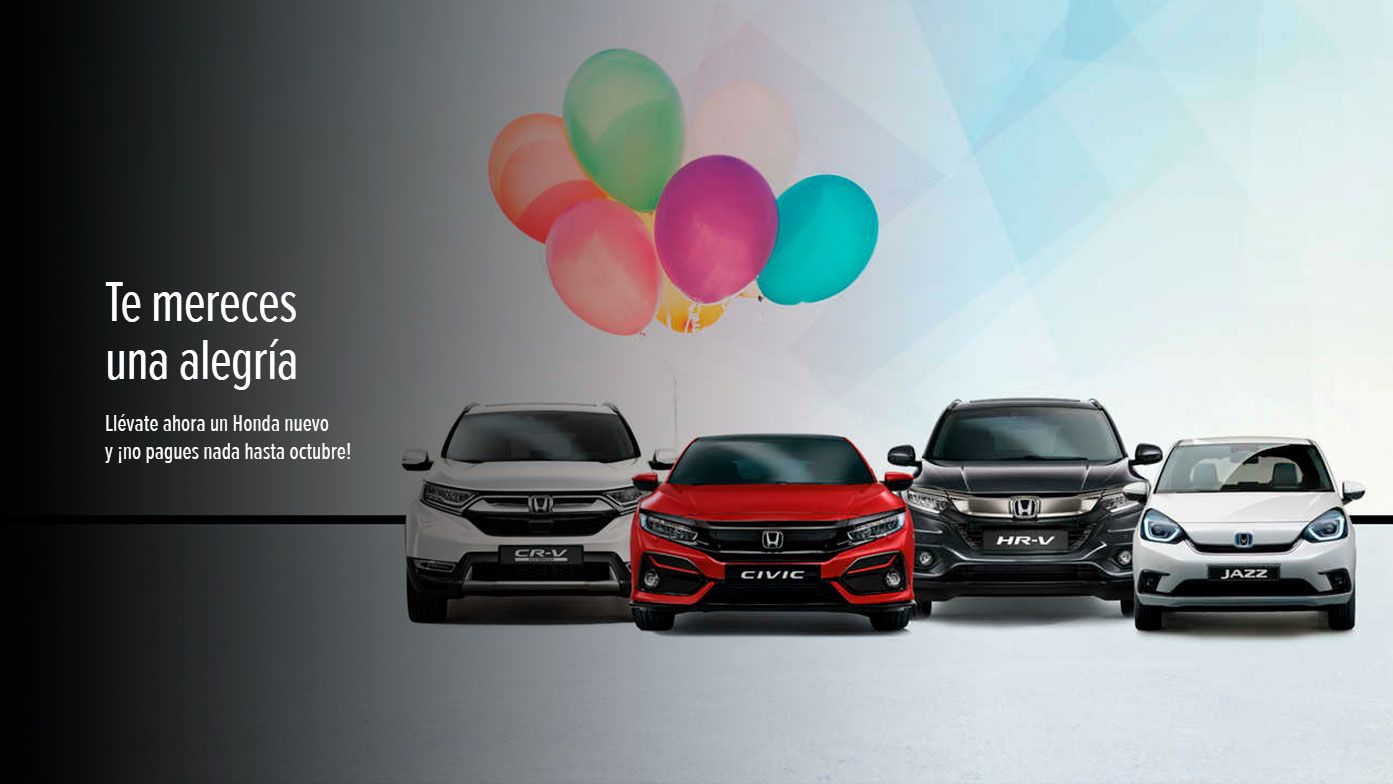 Honda ofertas Murcia junio Motorexcel
