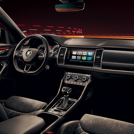 Skoda Skomovil Interior