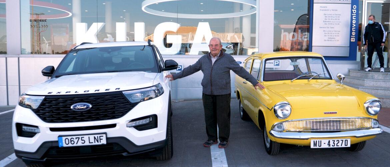 Más de 60 años confiando en Ford para disfrutar de toda una vida