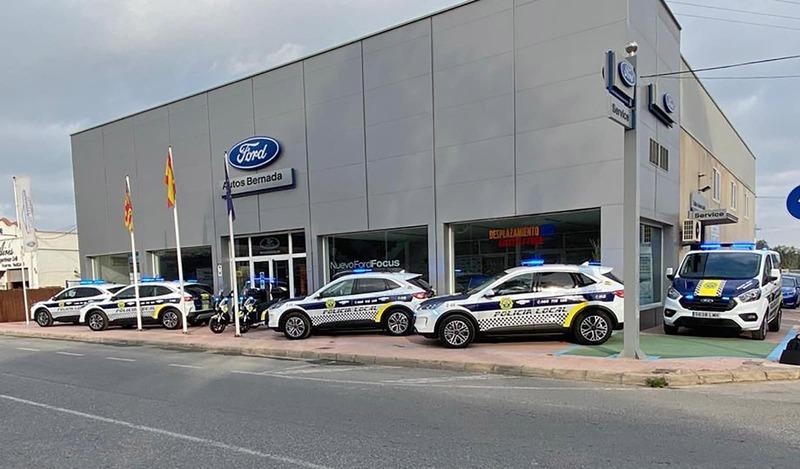 La Policía Local de Rojales confía en la sostenibilidad de los vehículos de Arcomovil