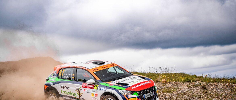 Alberto Monarri, líder de la Peugeot Rally Cup Ibérica después de clasificarse segundo en WRC Portugal