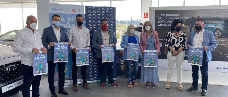 Los empleados de Hyundai Gasmovil y los usuarios de Astrapace reforestarán la Vía Verde del Noroeste
