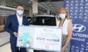 """Hyundai Gasmovil dona 500 euros a Astrapace por su colaboración en la jornada solidaria """"Tu vía más verde"""""""